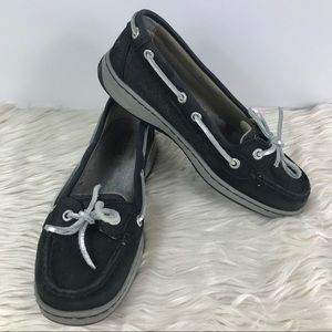 Sperry Top Siders slip in boat shoes sparkle